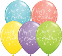 Birthday Sparkles (Sorbet 25pc) - 11 Inch Balloons